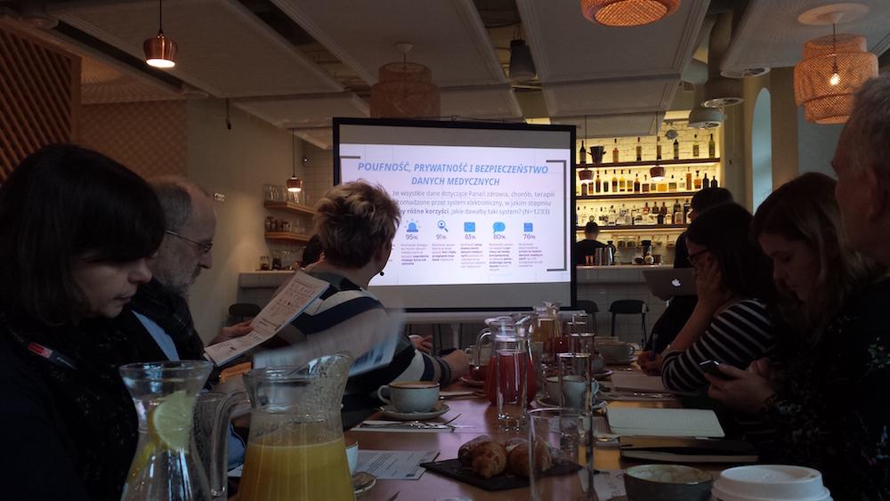 zdjęcie z prezentacji podczas warsztatu Razem dla Zdrowia