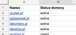 Propozycje nazw dla GdziePoLek.pl