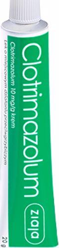 Clotrimazolum Ziaja 20 gramów w aptekach internetowych