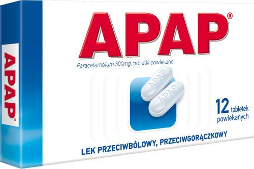 Apap 12 tabletek w aptekach internetowych